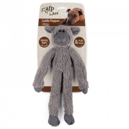 Игрушка для собак- AFP Lambswool - Cuddle Ropey Floppers