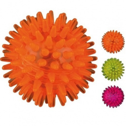 Игрушка для собак - Trixie Flashing Hedgehog Ball, 5 cm
