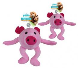 Rotaļlieta suņiem - Pawise Happy Bouncer - Pig S