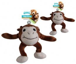 Rotaļlieta suņiem - Pawise Happy Bouncer -  Monkey S