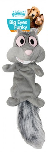 Игрушка для собак - Pawise Big Eyes - Squirrel-LG