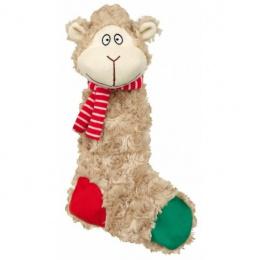 Rotaļlieta suņiem - Trixie Xmas Assortment Donkeys or Sheep, rustling, 32 cm