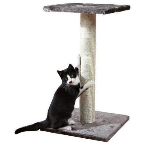 Когтеточка столбик - Trixie Espejo, платиново серый, 69 cm