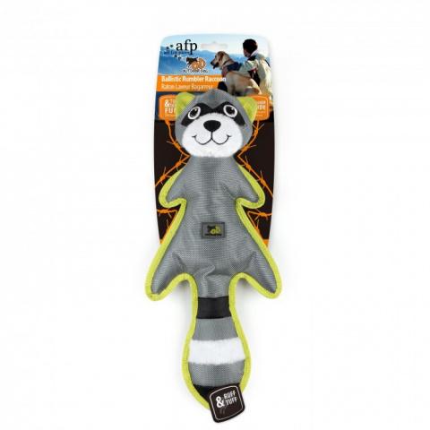 Rotaļlieta suņiem - AFP Outdoor-Ballistic Rumbler Raccoon