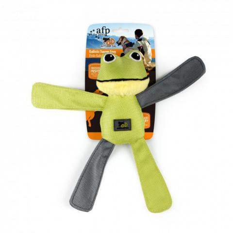 Rotaļlieta suņiem - AFP Outdoor-Ballistic Tugger Frog