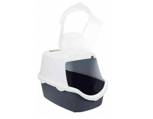 Tualete kaķiem - Vico Easy Clean Litter Tray, 40*40*56, grey/white