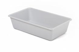 Tualete kaķiem - Avesa, Mid rectangular tray, 39 x 24 x 11 cm