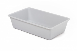Tualete kaķiem - Avesa Mid rectangular tray, 39x24x11 cm