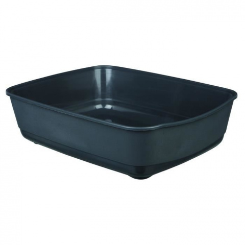 Туалет для кошек - Classic cat litter tray, 36x12x46cm, темно серый