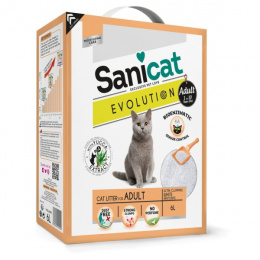 Наполнитель для кошачьего туалета - Sanicat Evolution Adult, 6L