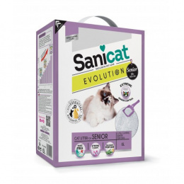 Pakaiši kaķu tualetei - Sanicat Evolution Senior, 6L