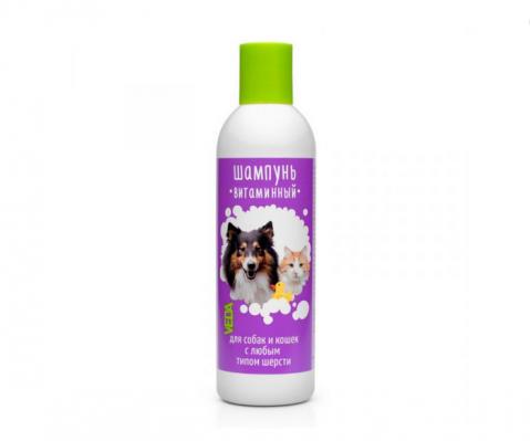 """Šampūns suņiem un kaķiem - VEDA """"Pušistik"""", 220 ml"""