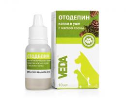 Ausu gēls - VEDA OTODEPIN higiēniskais, 15 g