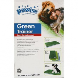 Tualete kucēniem - AFP Pawise Green Trainer, 43 x 67 cm