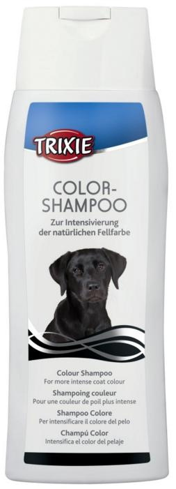 Шампунь для собак - Trixie Colour Shampoo, black 250 ml