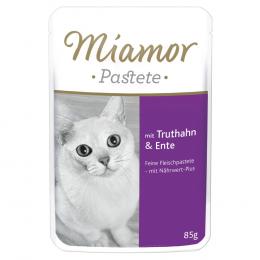 Консервы для кошек - Miamor Pastete (pouch) Turkey&Duck, 85 г
