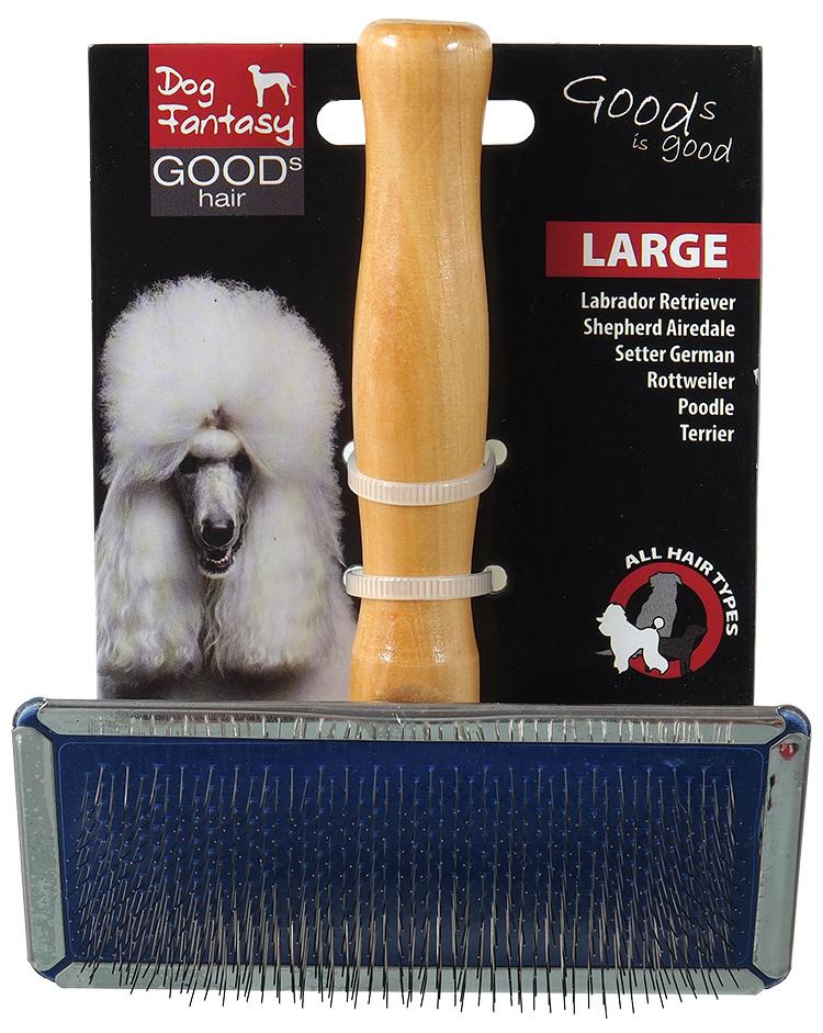 Расческа для животных - DogFantasy Brush, wooden, large