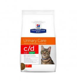 Veterinārā barība kaķiem -  Hills Feline Reduced Calorie c/d, 8 kg