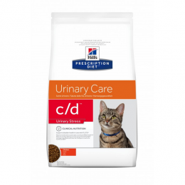 Veterinārā barība kaķiem - Hill's Prescription Diet c/d Feline Urinary Stress, 0.4 kg
