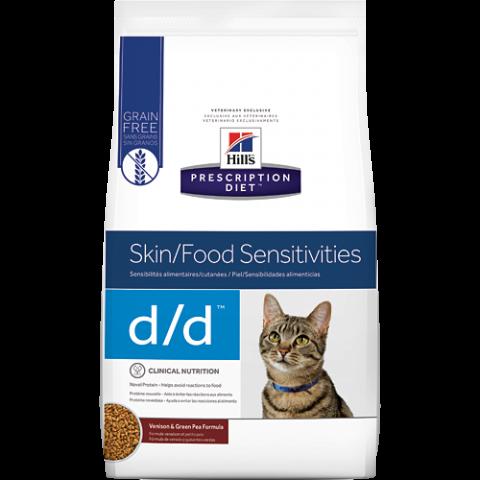 Ветеринарный корм для кошек - Hill's Feline d/d, 1.5 кг