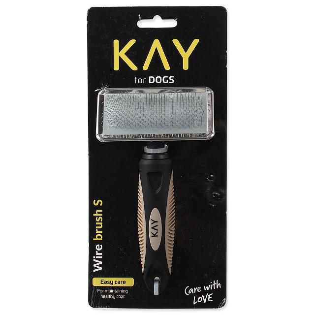 Расческа для животных  - KAY Wire brush, S
