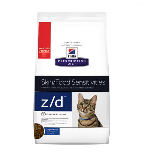 Veterinārā barība kaķiem - Hill's Feline z/d, 2 kg