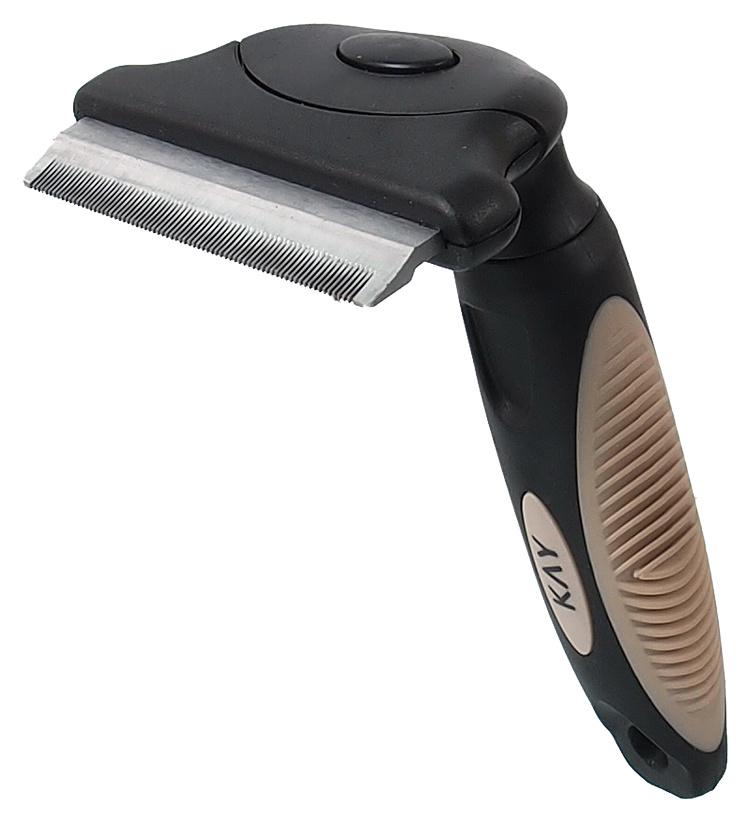 Расческа для животных - KAY De-Shedding brush, L