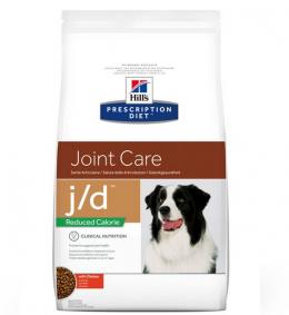 Veterinārā barība suņiem - Hill's Canine Reduced Calorie j/d, 4 kg