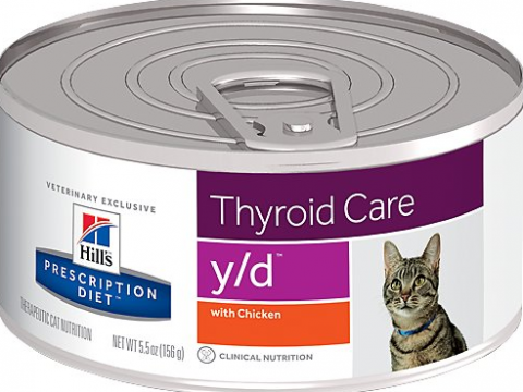 Veterinārie konservi kaķiem - Hill's Feline y/d, 156 g