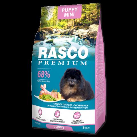 Barība kucēniem - Rasco Premium Puppy Mini, 1 kg