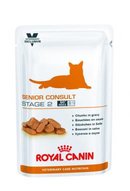 Ветеринарные консервы для кошек - Royal Canin Feline Senior Consult Stage 2, 100 г
