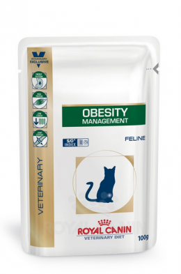 Veterinārie konservi kaķiem - Royal Canin Obesity Management Feline, 100 g