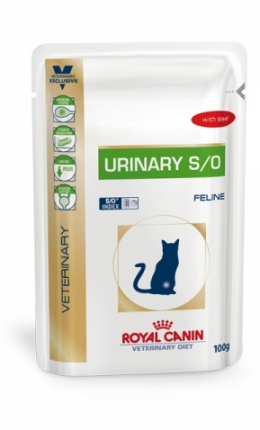 Veterinārie konservi kaķiem - Royal Canin VDC Urinary Feline Beef, 100 g