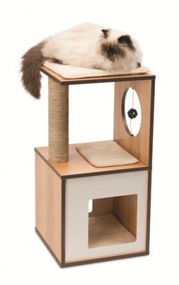 Mājiņa kaķiem - Vesper V-Box, 37*37*72.5 cm