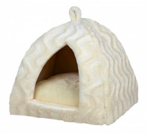 Guļvieta - Trixie Delia Cuddly Cave, cream