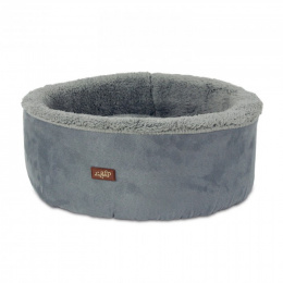 Guļvieta kaķiem - AFP Lambswool Curl&Cuddle bed, grey