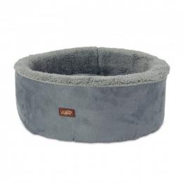 Guļvieta kaķiem - AFP Lambswool Curl&Cuddle bed, grey