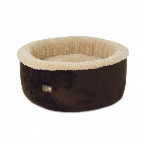 Guļvieta kaķiem - AFP Lambswool Curl&Cuddle bed, brown