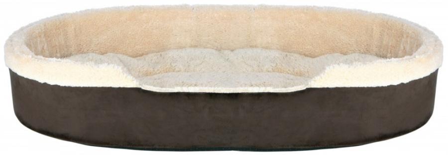 Guļvieta - Trixie Cosma bed, 55*45 cm, tumši brūna/bēša krāsa