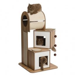 Mājiņa kaķiem - Hagen Vesper V-Tower, 65*65*117.5 cm