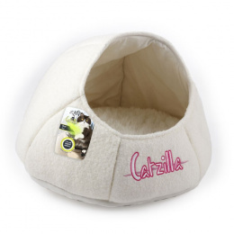 Guļvieta kaķiem - Catzilla Nest Cat Bed, white