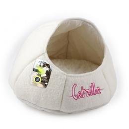 Guļvieta kaķiem - Catzilla Nest Cat Bed, white