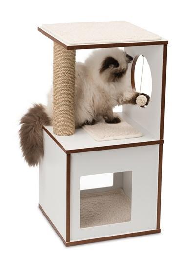 Mājiņa kaķiem - Hagen Vesper V-Box, 37*37*72.5 cm