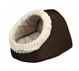 Лежанка для кошек - Trixie Timur Cuddly Cave, 35*26*41 cm, коричневый