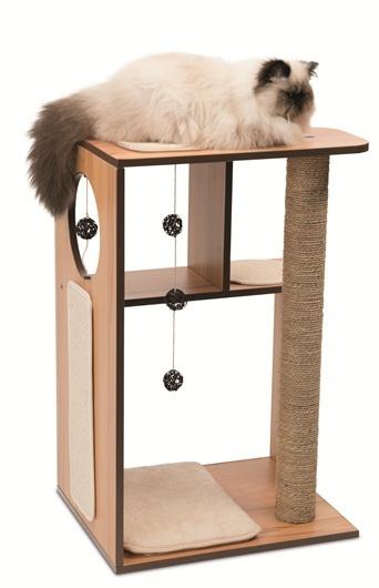 Mājiņa kaķiem - Hagen Vesper V-Box, 50*40*78 cm