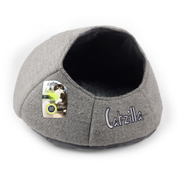 Guļvieta kaķiem - Catzilla Nest Cat Bed, grey