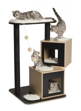 Mājiņa kaķiem - Hagen Vesper V-Double, 65*65*103.5 cm