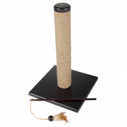 Когтеточка столбик - AFP Classic Comfort Scratching Post With Wand