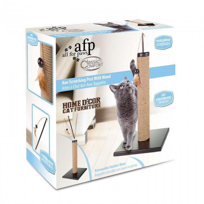 Nagu asināmais - AFP Classic Comfort Scratching Post With Wand