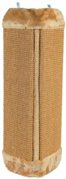 Когтеточка - Sisal Scratching Post угловая (бежевый), 23*49cm